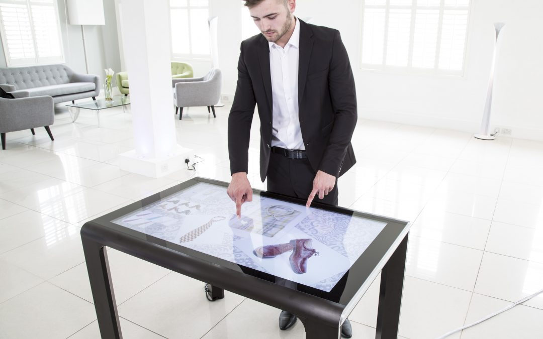 Displaylite's 180 meets European Furniture Standards for Tables