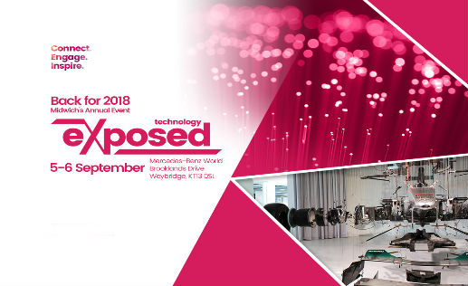 Come and meet us at Technology Exposed 2018