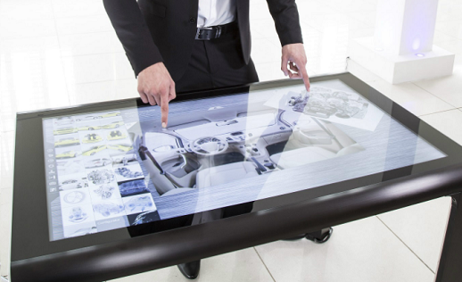 See the Displaylite 180 touch table at ISE 2019